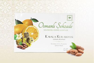 Osmanlı Şehzade - Limon Aromalı Kavala Kurabiyesi 250gr